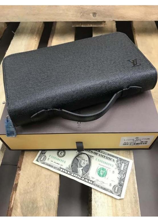 Бумажник Louis Vuitton Zippy XL черный