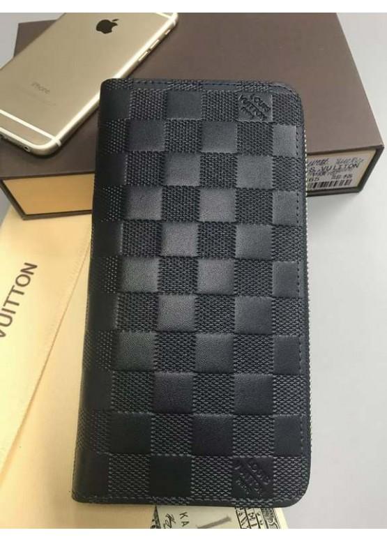 Бумажник Louis Vuitton Zippy Vertical люкс качество
