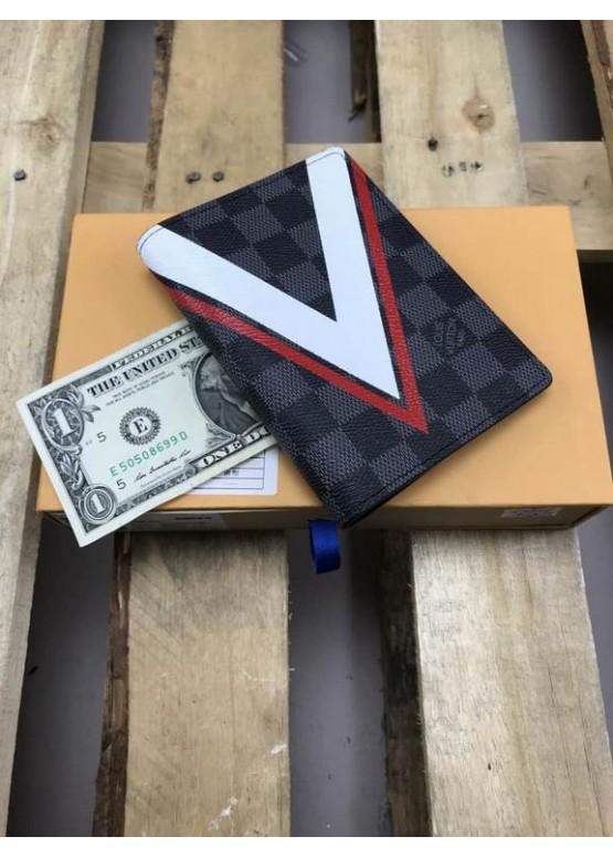 Обложка для паспорта Louis Vuitton люкс качество