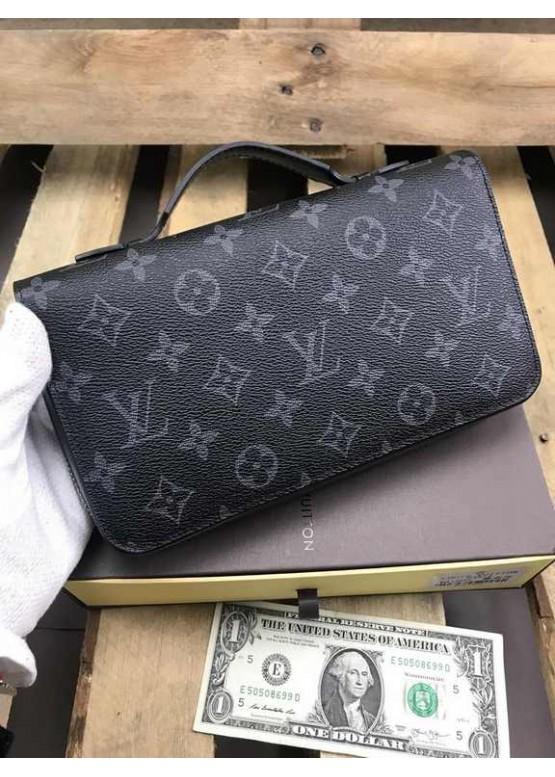Бумажник Louis Vuitton Zippy XL монограмма