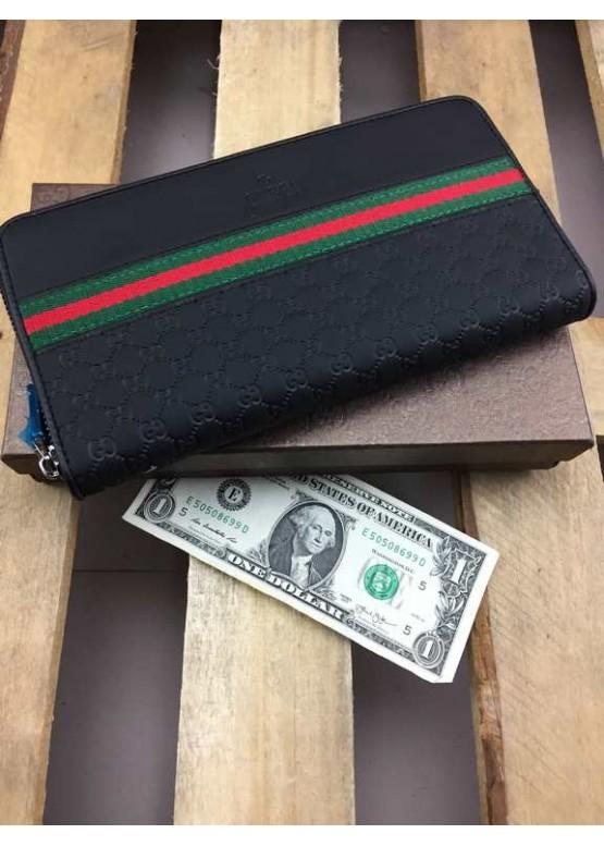 Кошелек Gucci черного цвета