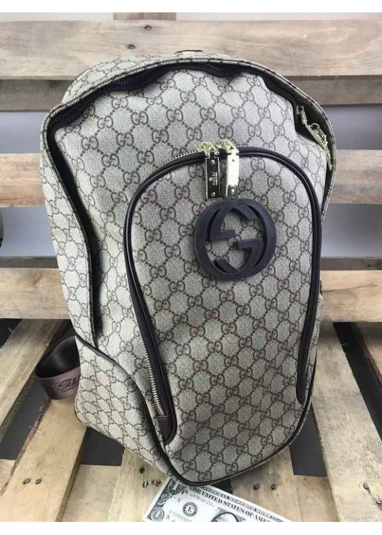 Рюкзак Gucci бежевый